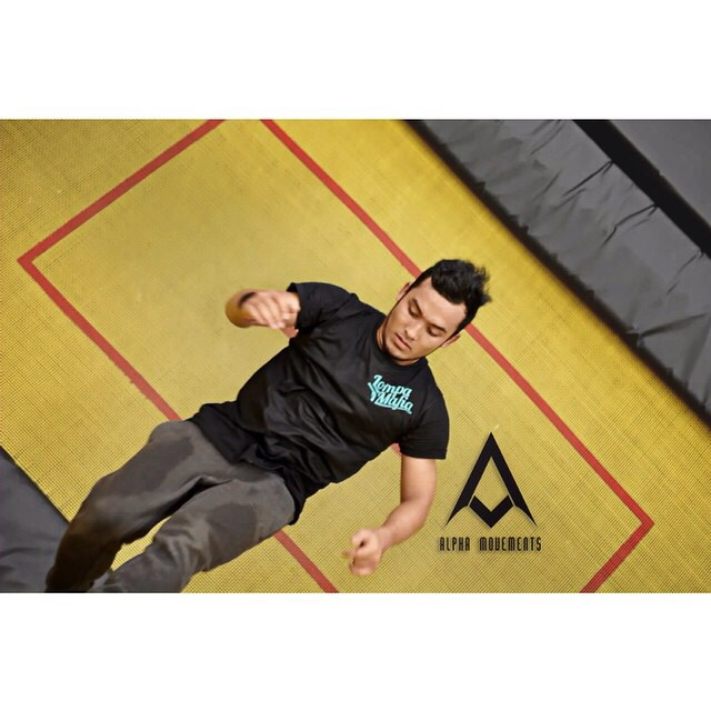 IMG 0830 4 Zafir at the Malaysia trampoline park JumpStreet KL
